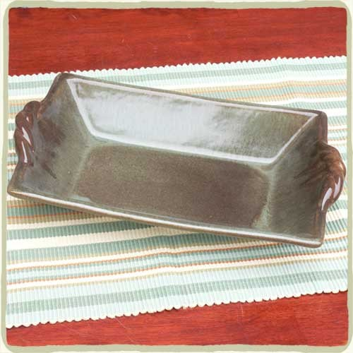Cerulean Sandstone Rectangular Serving Tray