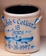 Personalized Anniversary 1/2 Gallon Crock