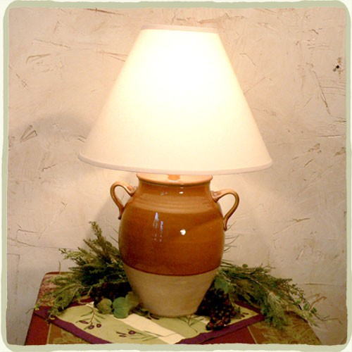 "Avignon 16"" Glazed Jar Lamp - Variety of Colors!"