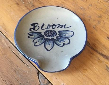 Spoon Rest- NEW BLOOM Pattern