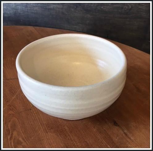 Farmhouse White Soup Bowl