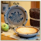 Teaberry Pie Plate