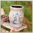 Snowman Utensil Jar