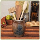 Fall Harvest Utensil Jar
