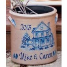 Custom Pattern 2 Gallon Crock