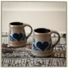 Traditional Heart Classic Mug Set (2)