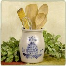 Custom Pattern Utensil Jar