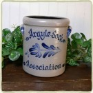 Personalized 1/2 Gal. Crock- 5 Available Patterns!