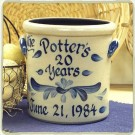 Personalized Anniversary 1 Gallon Crock
