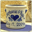 Personalized  2 Gal. Crock- 5 Available Patterns!