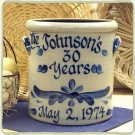 Personalized Anniversary 2 Gallon Crock