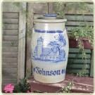 Custom Decorated Butter Churn