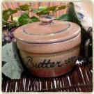 Provincial Butter Crock