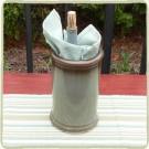 Cerulean Blue Sandstone Wine Cooler