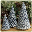Original Cornerstone Village Trees - Set of Three