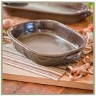 Sandstone Small Oval Casserole Baker