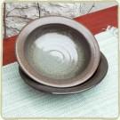 "Sandstone Cerulean Blue 9"" Pasta Bowl"