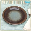 Cerulean Blue Sandstone Luncheon Plate