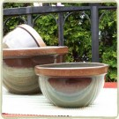 Sandstone Large Mixing Bowl - Cerulean Blue