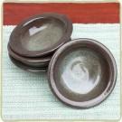 Sandstone Dessert Bowl - Cerulean Blue
