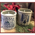 Holiday Candle Crocks