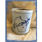 1 Quart Crock- Home State Collection