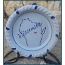 Home State Custom Pie Plate