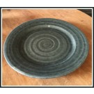 Ridges Gray Salad Plate