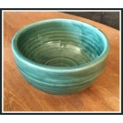 Ridges Teal Bowl