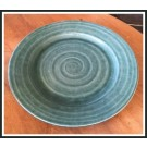 Ridges Teal Salad Plate