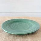 Ridges Teal Salad Plate