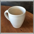 Farmhouse White Ridges Mug