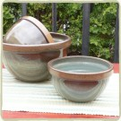 Blue Sandstone Mixing Bowls