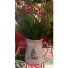 Holiday Pitcher- Swirly Tree