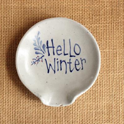 Spoon Rest - Hello Winter
