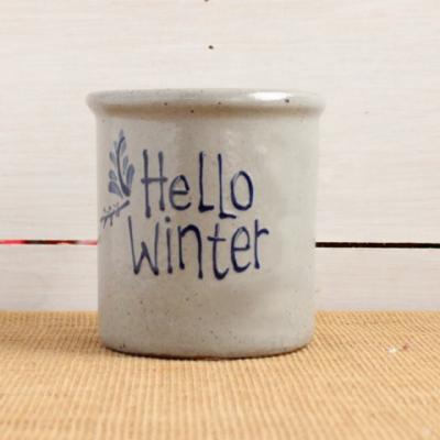 Candle Crock - Hello Winter