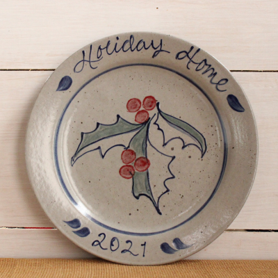 2021 Holiday Collectible Plate