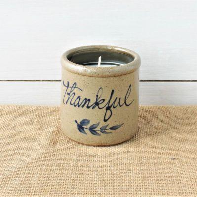 Candle Crock - Thankful