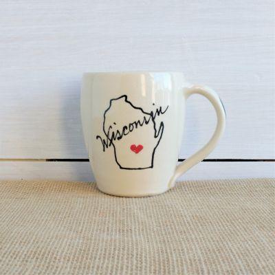 Modern Cafe Mug - Home State Collection