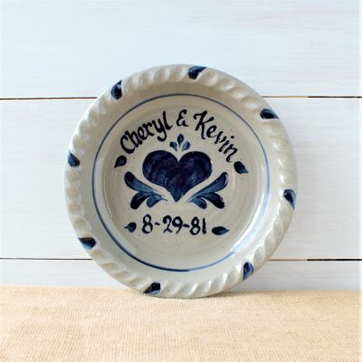 Pie Plate- Personalized (5 Patterns Available)