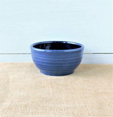 Farmhouse Ridges Soup Bowl - Kettle Blue