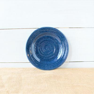 Farmhouse Ridges Salad Plate - Kettle Blue