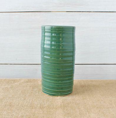 Farmhouse Ridges Short Vase- (3 Colors)