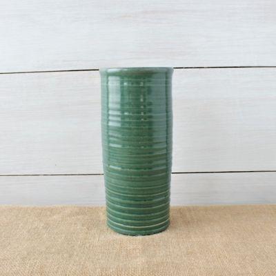 Farmhouse Ridges Tall Cylinder Vase- (3 Colors)