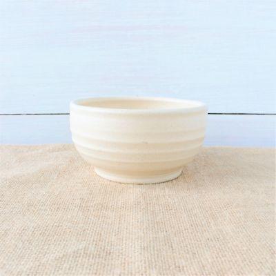 Farmhouse Ridges Soup Bowl - Drift White