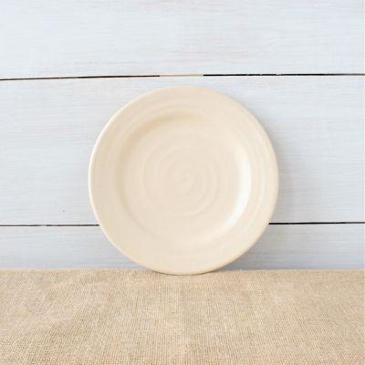 Farmhouse Ridges Salad Plate - Drift White