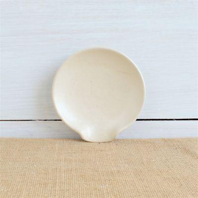 Farmhouse Ridges Spoon Rest - Drift White