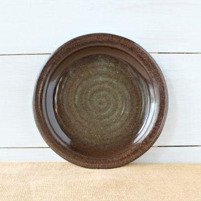 Sandstone Dinner Plate- Cerulean Blue