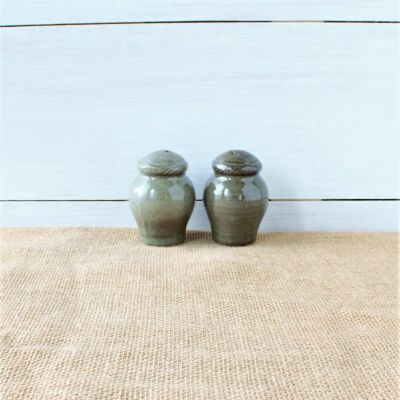 Sandstone Salt & Pepper Pair - Cerulean Blue