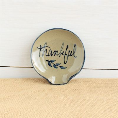 Spoon Rest- Thankful
